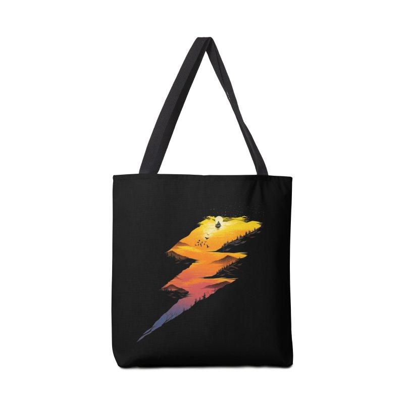 Beautiful Thunder Accessories Bag by dandingeroz's Artist Shop