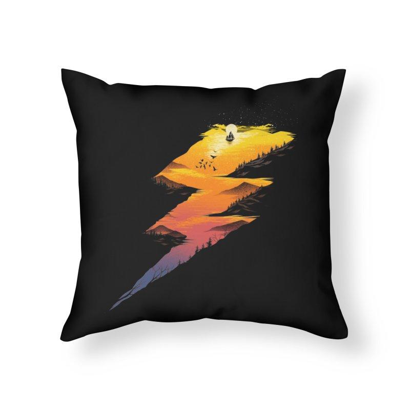 Beautiful Thunder Home Throw Pillow by dandingeroz's Artist Shop
