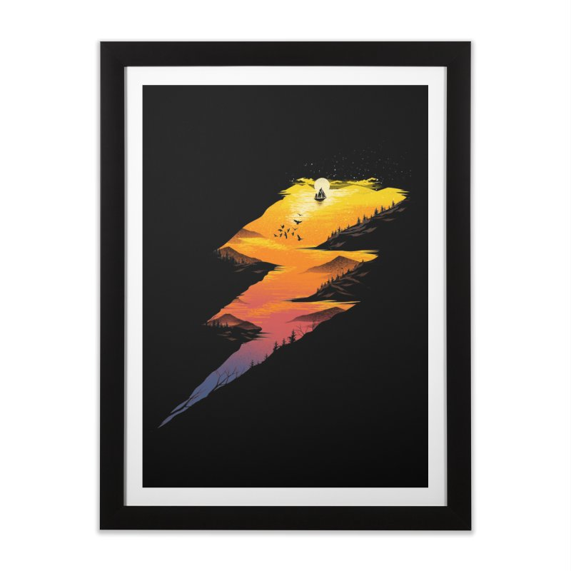 Beautiful Thunder Home Framed Fine Art Print by dandingeroz's Artist Shop