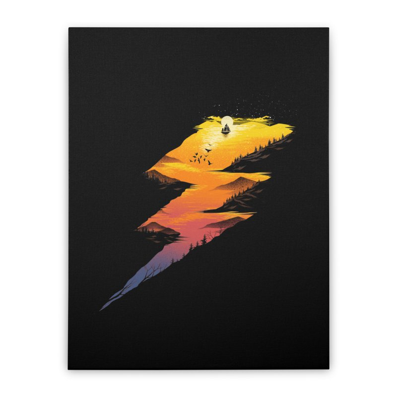 Beautiful Thunder Home Stretched Canvas by dandingeroz's Artist Shop