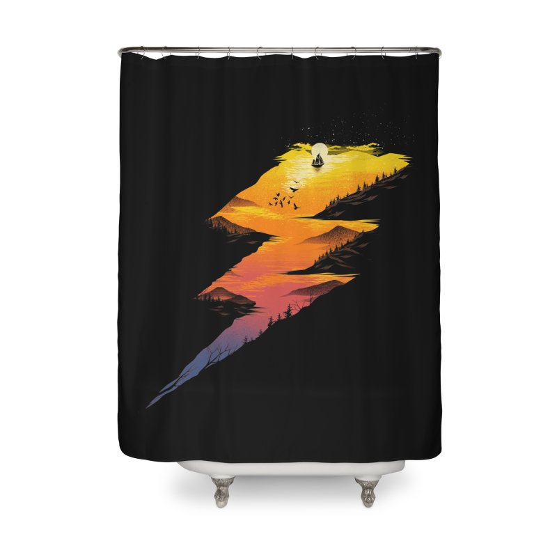 Beautiful Thunder Home Shower Curtain by dandingeroz's Artist Shop