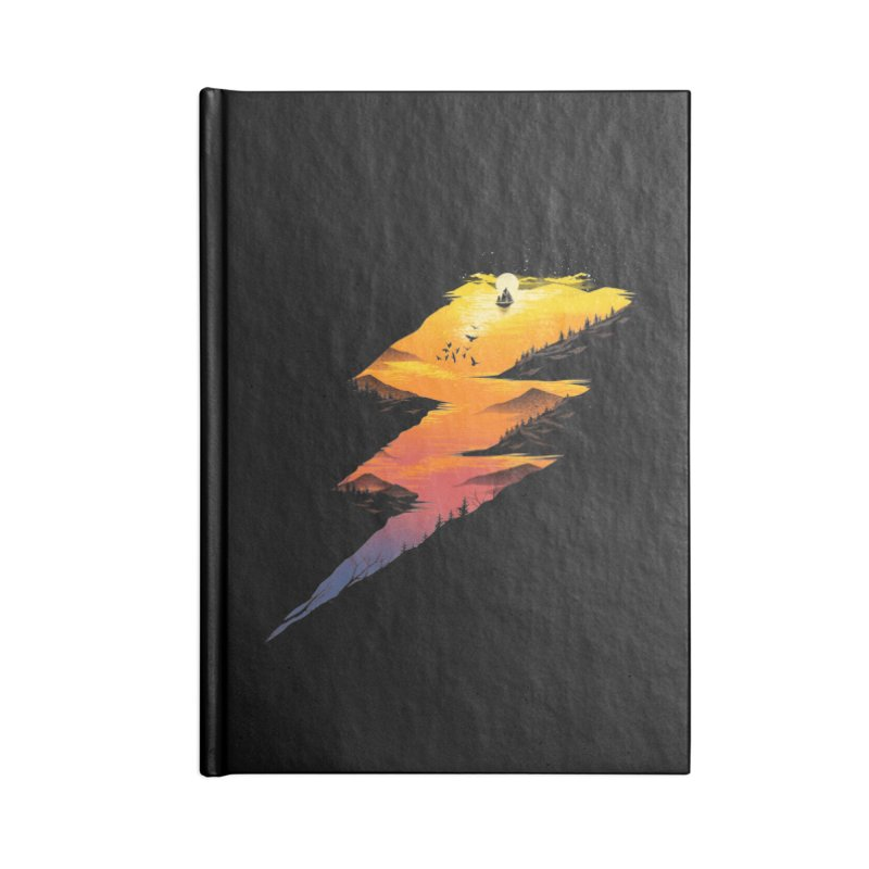 Beautiful Thunder Accessories Notebook by dandingeroz's Artist Shop