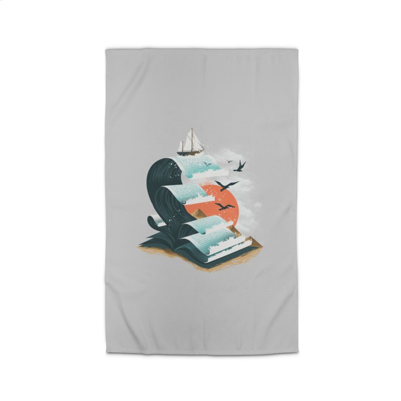 Waves of Knowledge Home Rug by dandingeroz's Artist Shop