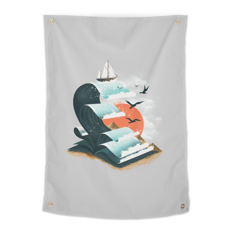 Waves of Knowledge Home Tapestry by dandingeroz's Artist Shop
