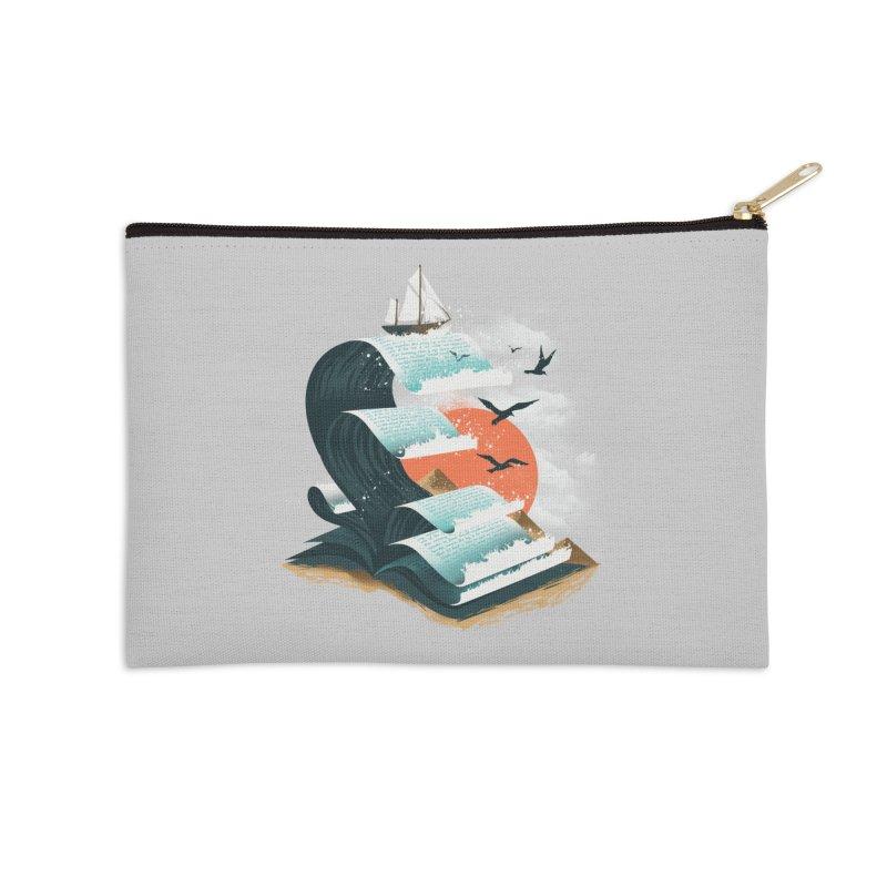 Waves of Knowledge Accessories Zip Pouch by dandingeroz's Artist Shop