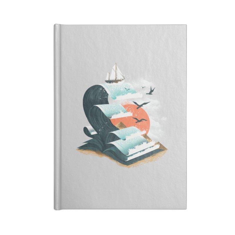 Waves of Knowledge Accessories Notebook by dandingeroz's Artist Shop