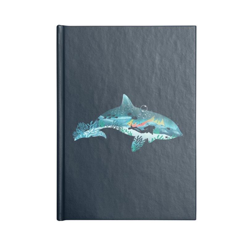 Dolphin Diver Accessories Notebook by dandingeroz's Artist Shop