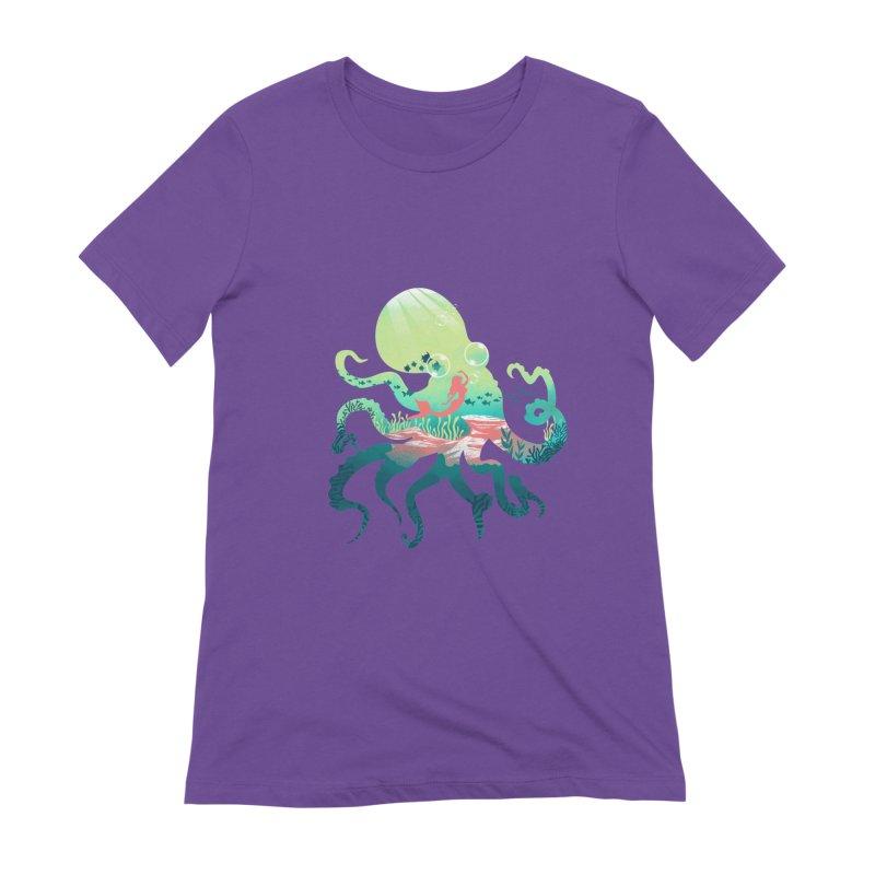 Wonder Sea Women's Extra Soft T-Shirt by dandingeroz's Artist Shop