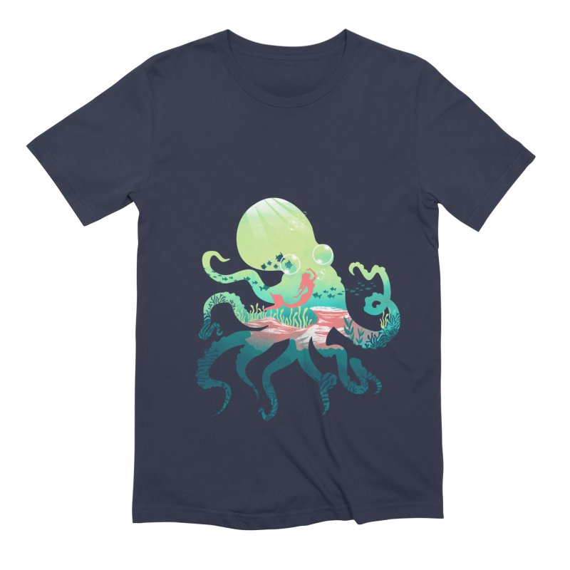 Wonder Sea Men's Extra Soft T-Shirt by dandingeroz's Artist Shop