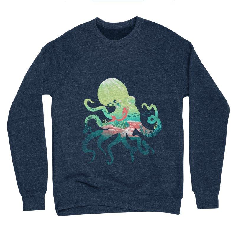 Wonder Sea Women's Sponge Fleece Sweatshirt by dandingeroz's Artist Shop