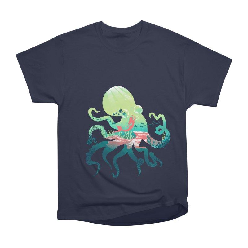 Wonder Sea Women's Heavyweight Unisex T-Shirt by dandingeroz's Artist Shop