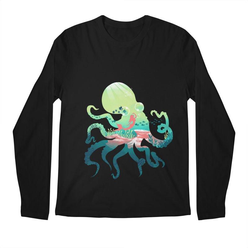 Wonder Sea Men's Regular Longsleeve T-Shirt by dandingeroz's Artist Shop