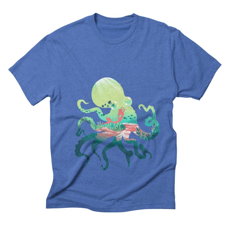 Wonder Sea Men's Triblend T-Shirt by dandingeroz's Artist Shop