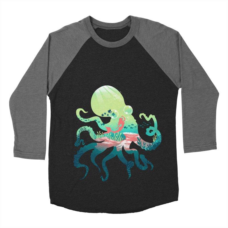 Wonder Sea Women's Baseball Triblend Longsleeve T-Shirt by dandingeroz's Artist Shop