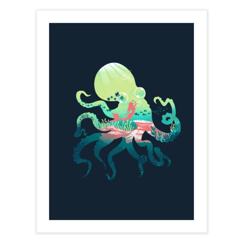 Wonder Sea Home Fine Art Print by dandingeroz's Artist Shop