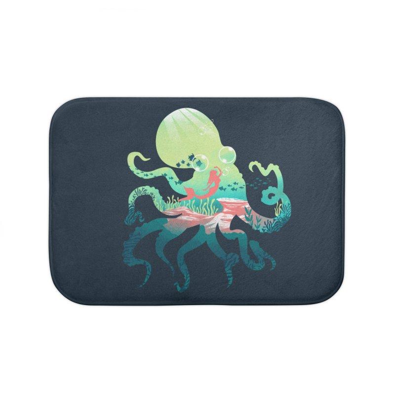 Wonder Sea Home Bath Mat by dandingeroz's Artist Shop
