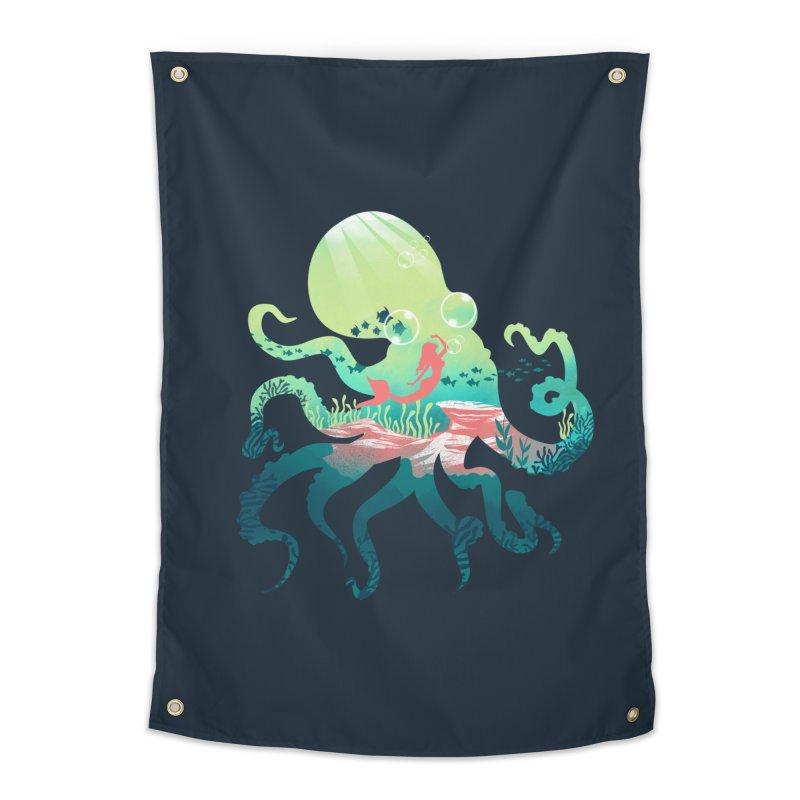 Wonder Sea Home Tapestry by dandingeroz's Artist Shop
