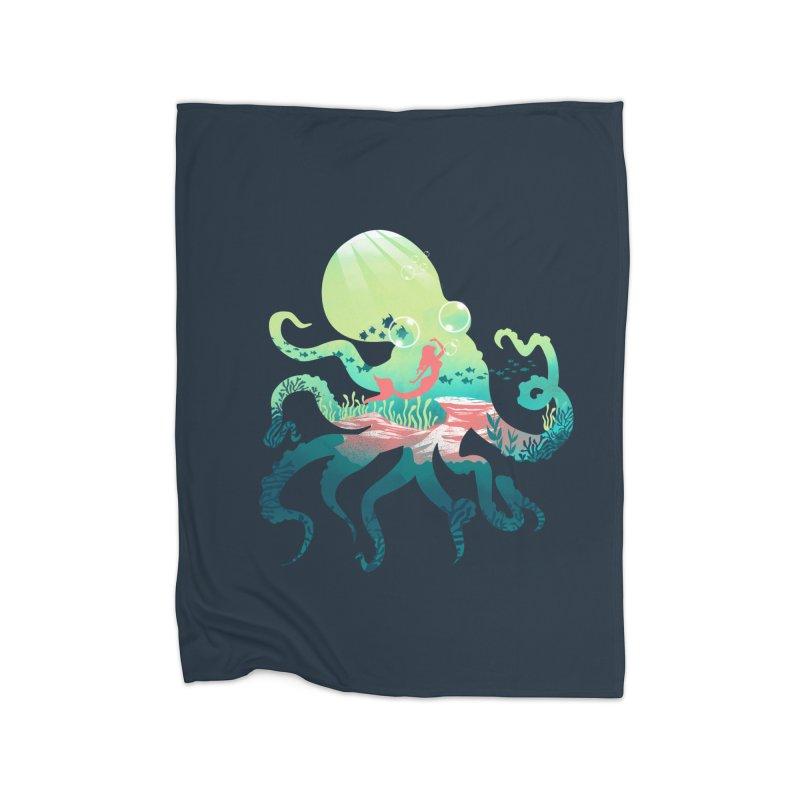 Wonder Sea Home Blanket by dandingeroz's Artist Shop