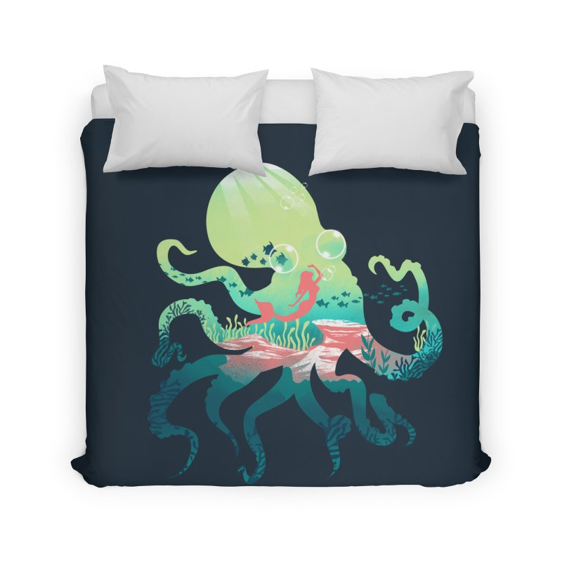 Wonder Sea Home Duvet by dandingeroz's Artist Shop