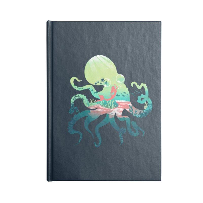 Wonder Sea Accessories Notebook by dandingeroz's Artist Shop