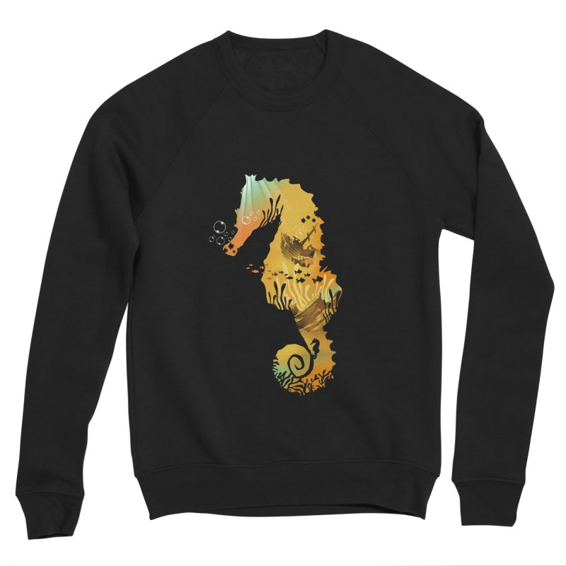 Golden Treasure Women's Sponge Fleece Sweatshirt by dandingeroz's Artist Shop