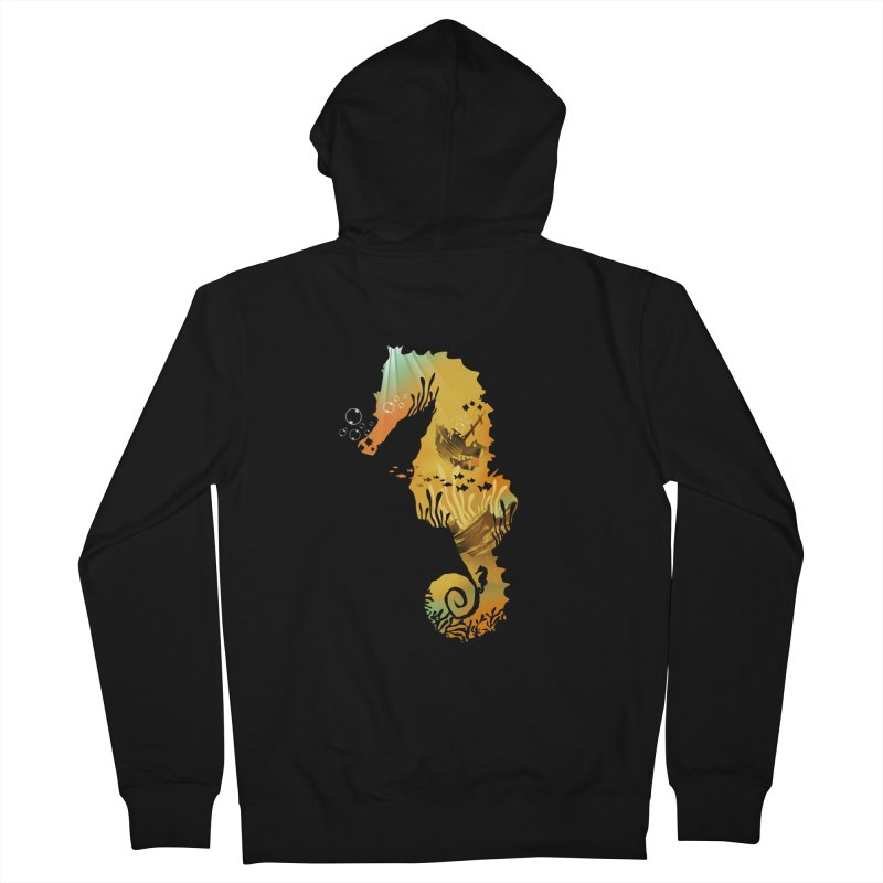 Golden Treasure Women's Zip-Up Hoody by dandingeroz's Artist Shop