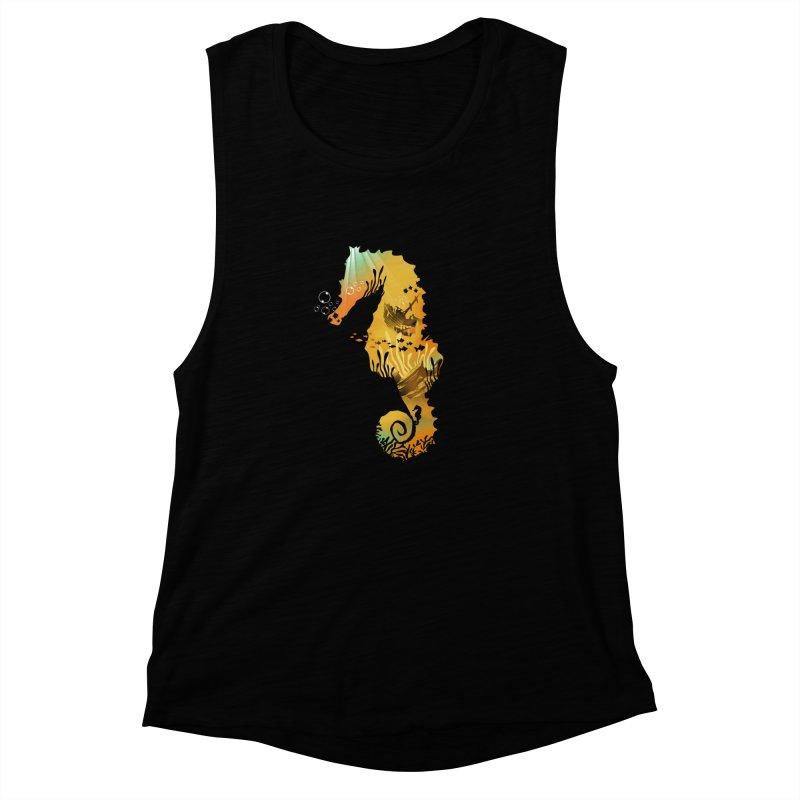 Golden Treasure Women's Muscle Tank by dandingeroz's Artist Shop