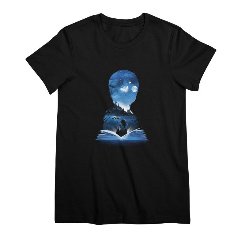 The 1st Book of Magic Women's Premium T-Shirt by dandingeroz's Artist Shop