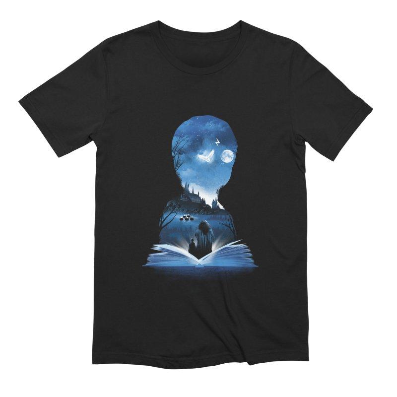 The 1st Book of Magic Men's Extra Soft T-Shirt by dandingeroz's Artist Shop