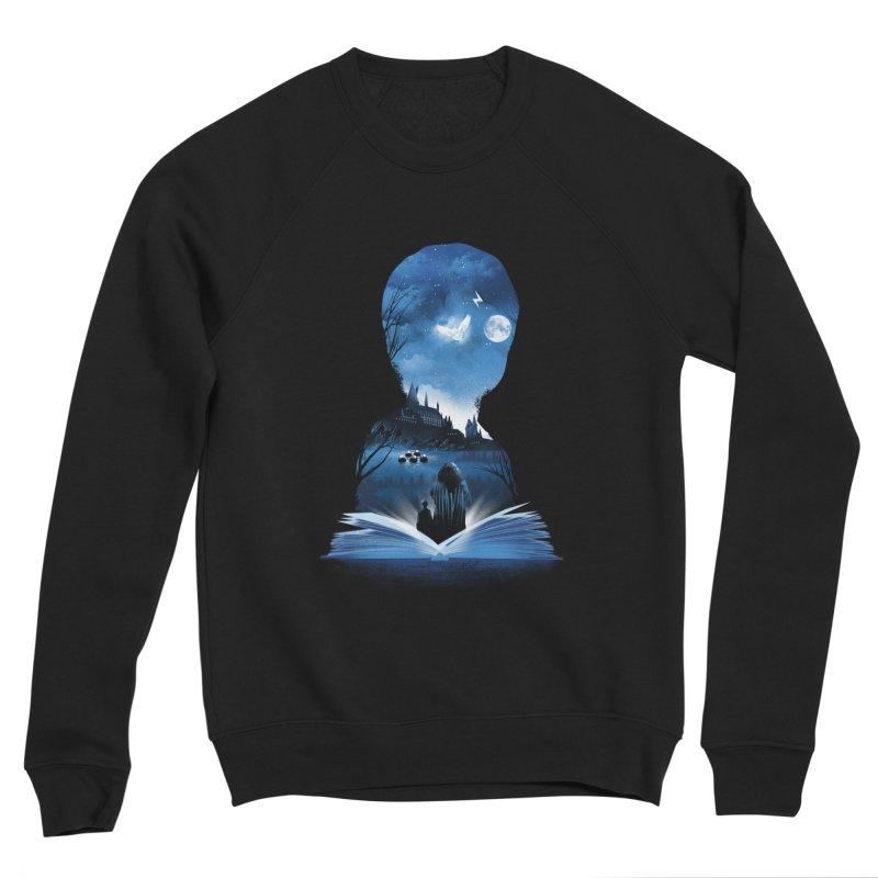 The 1st Book of Magic Women's Sponge Fleece Sweatshirt by dandingeroz's Artist Shop