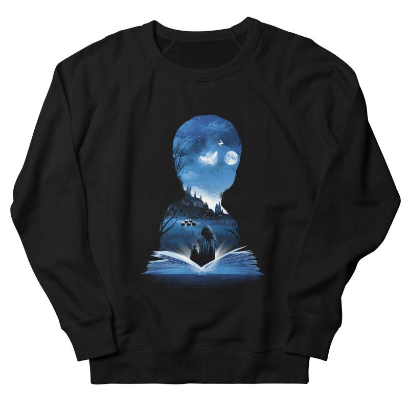 The 1st Book of Magic Men's French Terry Sweatshirt by dandingeroz's Artist Shop