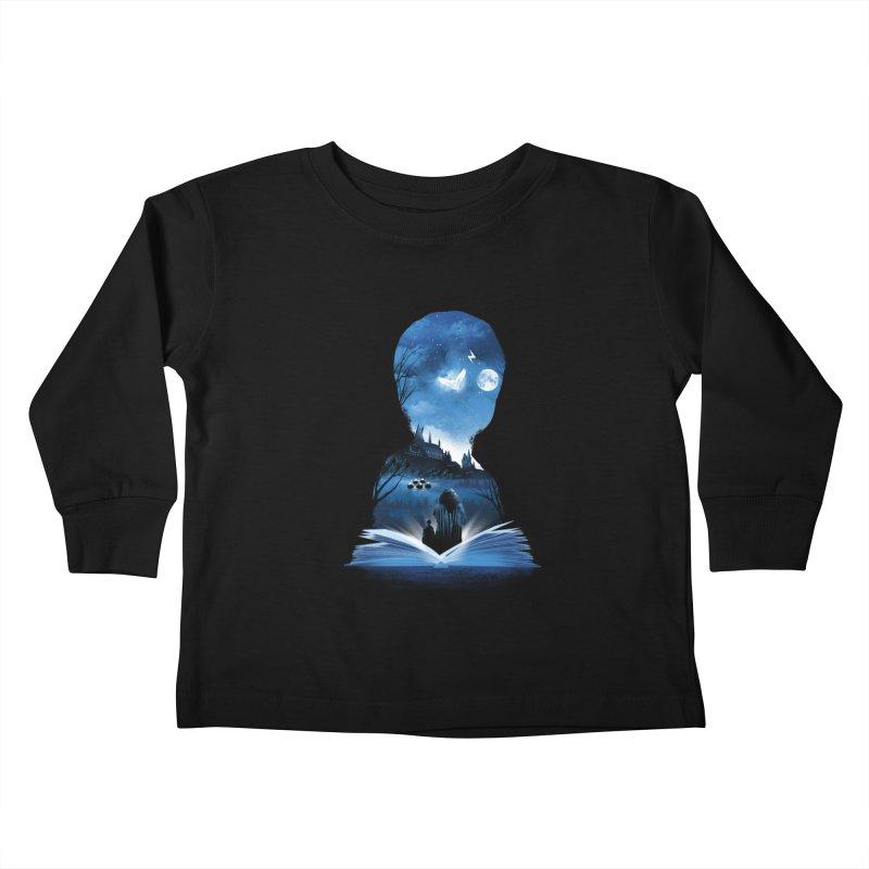 The 1st Book of Magic Kids Toddler Longsleeve T-Shirt by dandingeroz's Artist Shop
