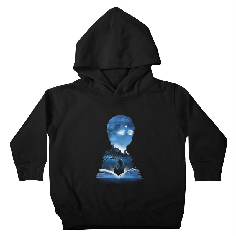 The 1st Book of Magic Kids Toddler Pullover Hoody by dandingeroz's Artist Shop
