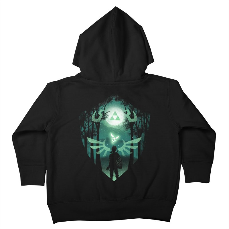 The Hero Crest Kids Toddler Zip-Up Hoody by dandingeroz's Artist Shop
