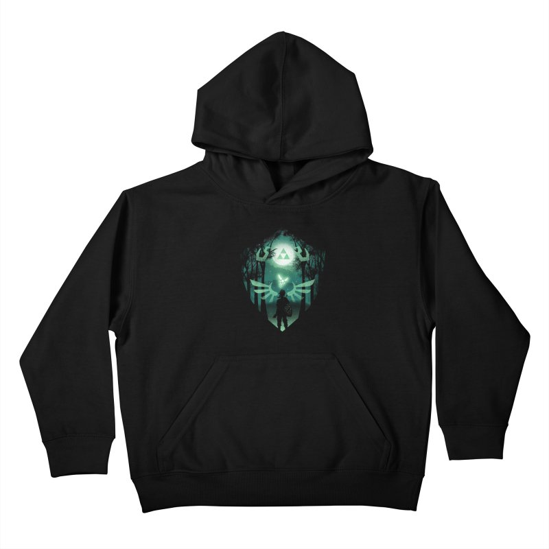 The Hero Crest Kids Pullover Hoody by dandingeroz's Artist Shop