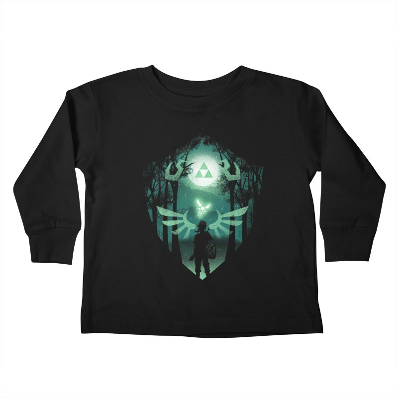 The Hero Crest Kids Toddler Longsleeve T-Shirt by dandingeroz's Artist Shop