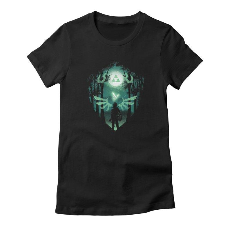 The Hero Crest Women's T-Shirt by dandingeroz's Artist Shop