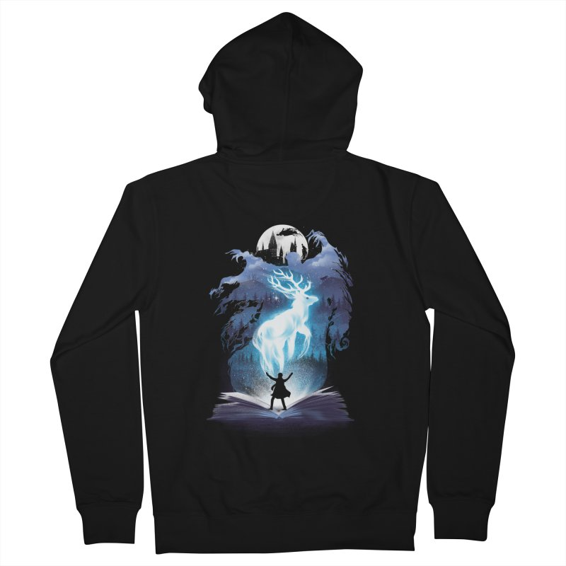 The 3rd Book of Magic Men's French Terry Zip-Up Hoody by dandingeroz's Artist Shop