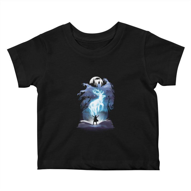 The 3rd Book of Magic Kids Baby T-Shirt by dandingeroz's Artist Shop