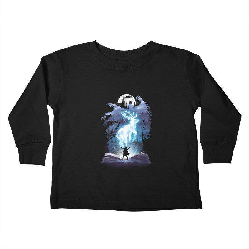 The 3rd Book of Magic Kids Toddler Longsleeve T-Shirt by dandingeroz's Artist Shop