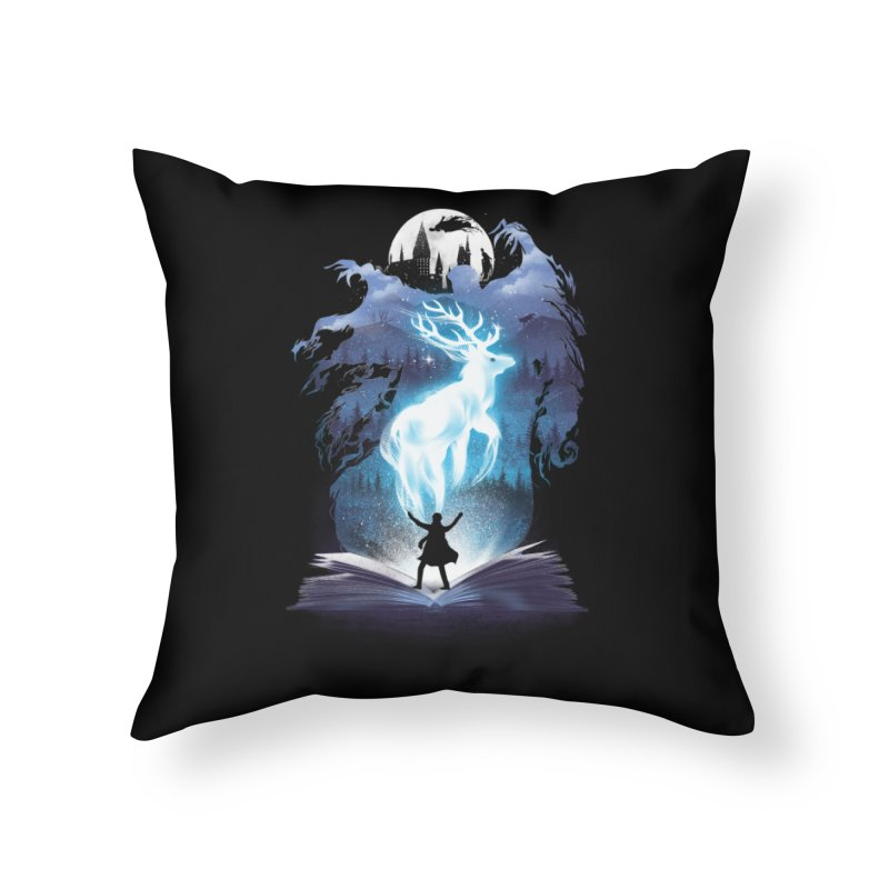 The 3rd Book of Magic Home Throw Pillow by dandingeroz's Artist Shop