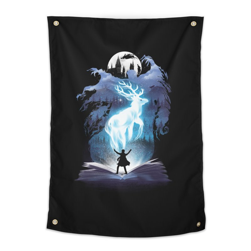 The 3rd Book of Magic Home Tapestry by dandingeroz's Artist Shop