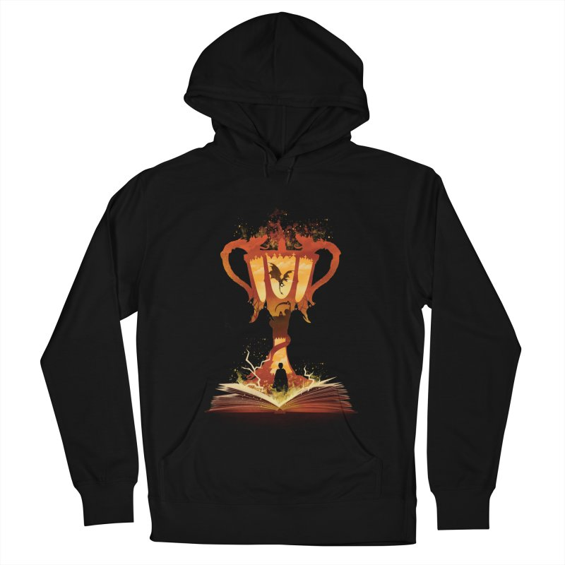 The 4th Book of Magic Men's French Terry Pullover Hoody by dandingeroz's Artist Shop