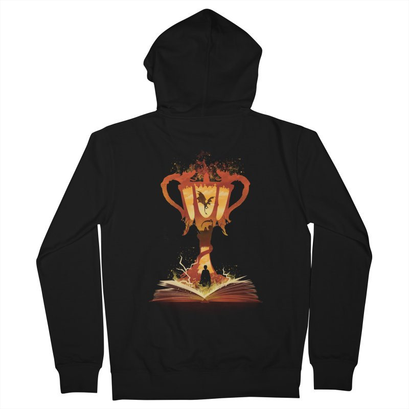 The 4th Book of Magic Men's French Terry Zip-Up Hoody by dandingeroz's Artist Shop