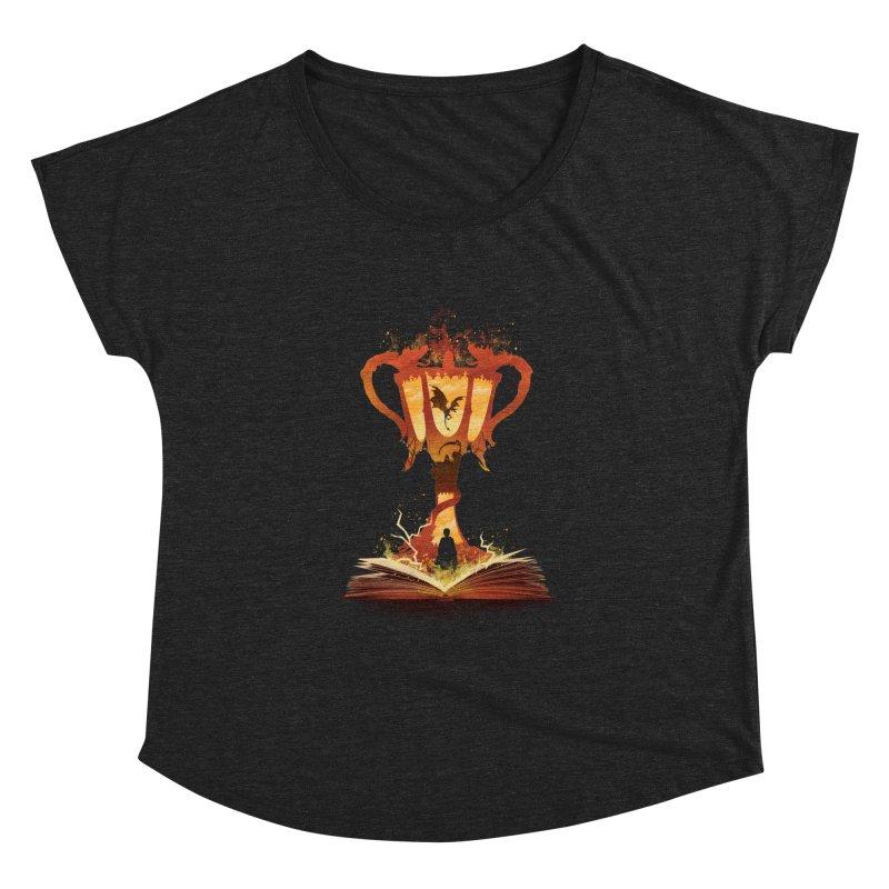 The 4th Book of Magic Women's Dolman Scoop Neck by dandingeroz's Artist Shop