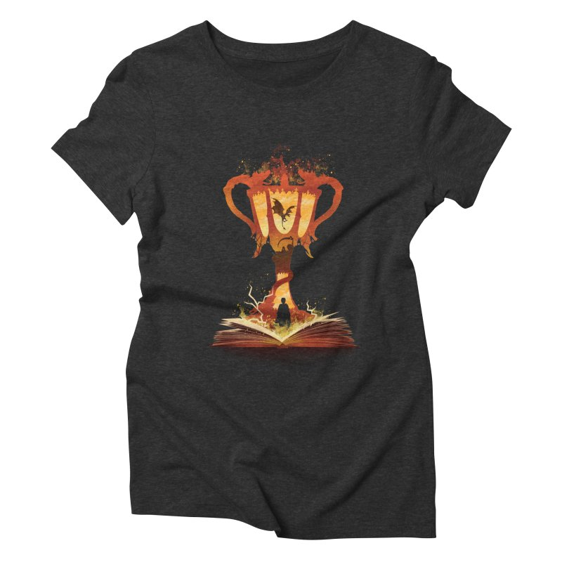 The 4th Book of Magic Women's Triblend T-Shirt by dandingeroz's Artist Shop