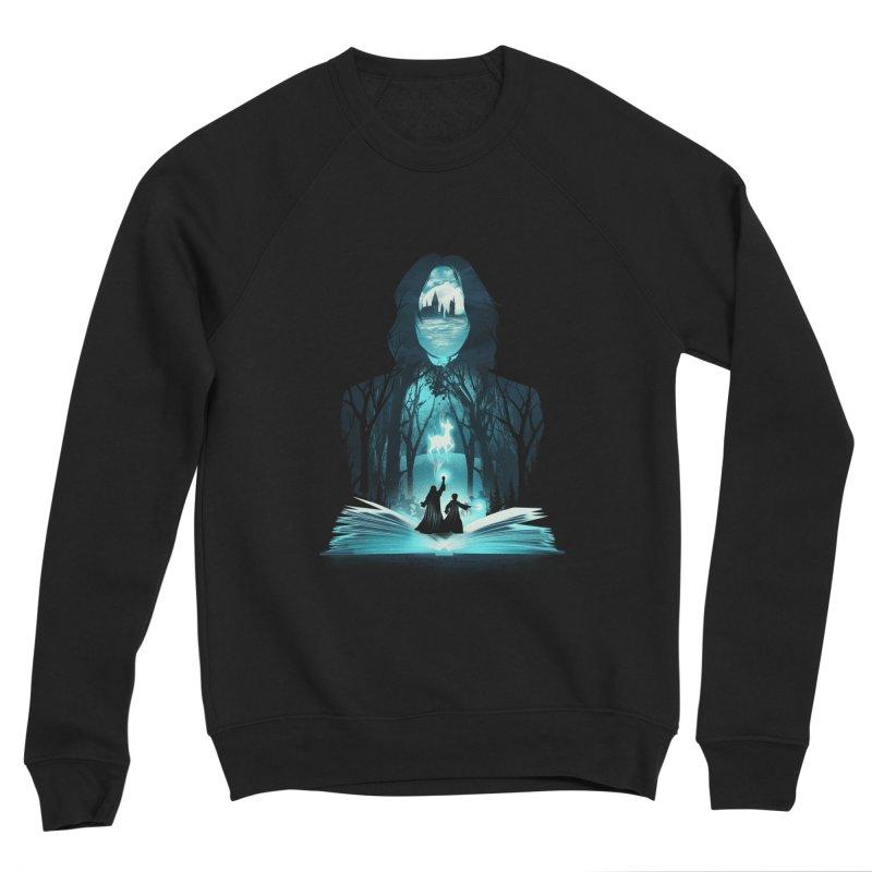 The 6th Book of Magic Men's Sponge Fleece Sweatshirt by dandingeroz's Artist Shop