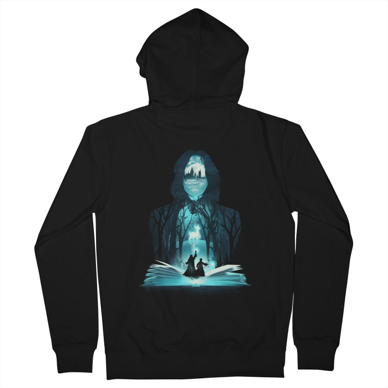 The 6th Book of Magic Men's French Terry Zip-Up Hoody by dandingeroz's Artist Shop