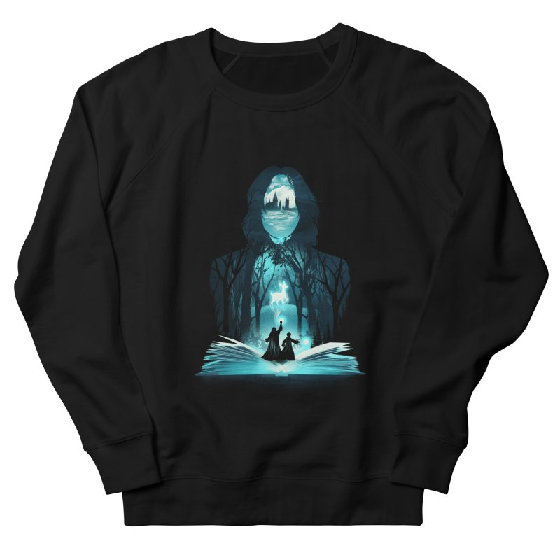 The 6th Book of Magic Men's French Terry Sweatshirt by dandingeroz's Artist Shop