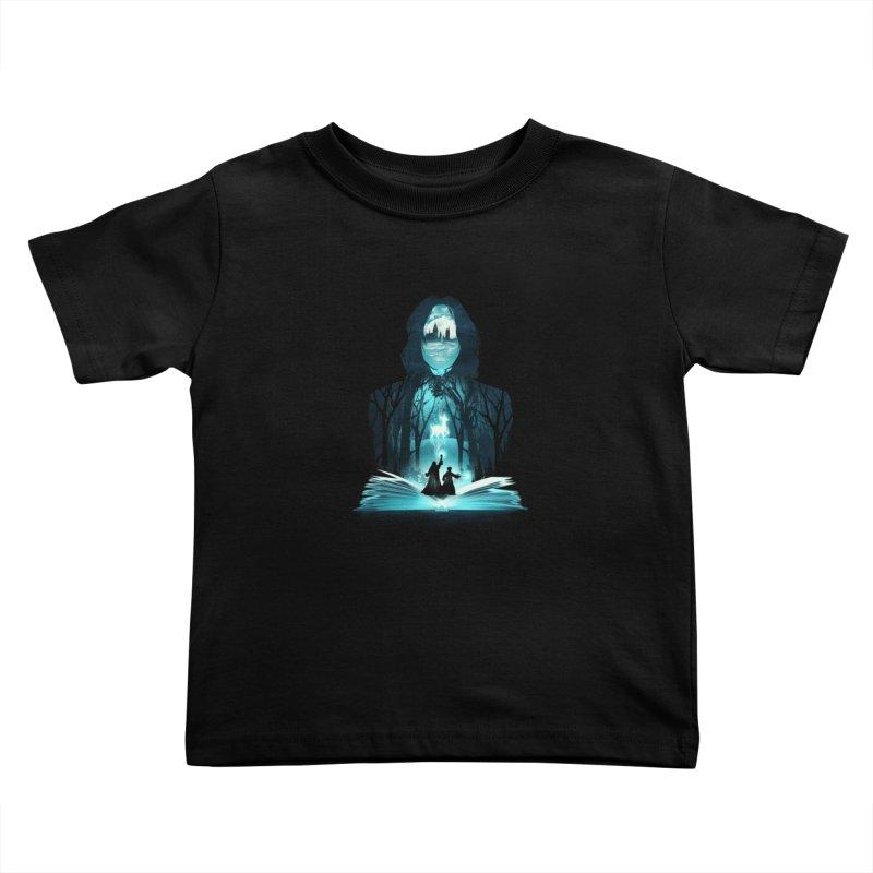 The 6th Book of Magic Kids Toddler T-Shirt by dandingeroz's Artist Shop